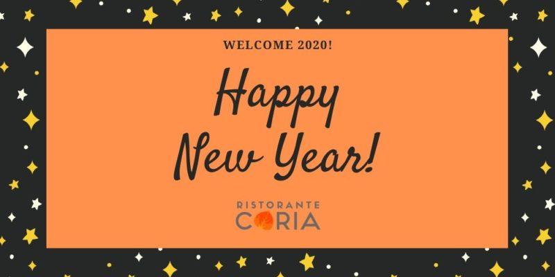 Benvenuto 2020_Tutte le novità del Ristorante Coria_3